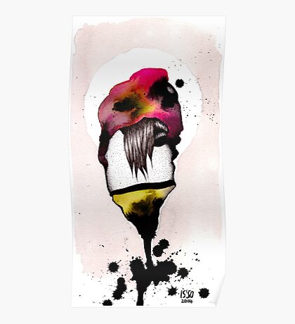 INK MONSTER 001 Poster