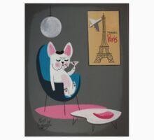 French Bulldog At Home T-Shirt