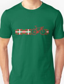Bike Stripes Basque Unisex T-Shirt