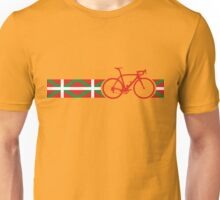 Bike Stripes Basque Unisex T-Shirt