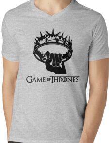 GAME OF THRONES Mens V-Neck T-Shirt