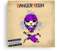 Danger Room Canvas Print