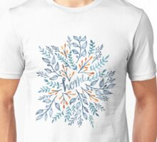 Home hand painted fern botanical pattern Unisex T-Shirt