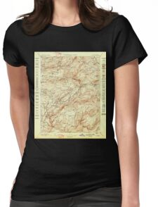 USGS TOPO Map California CA Colfax 299290 1898 125000 geo Womens Fitted T-Shirt