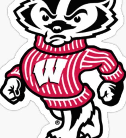 Wisconsin- Badger Sticker