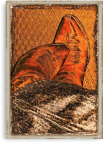 """""""It's ALL in the Boots""""... prints and products by © Bob Hall"""