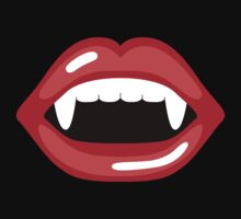 Cartoon Vampire Mouth by destei