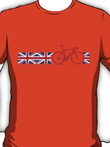 Bike Stripes Union Jack T-Shirt