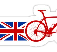 Bike Stripes Union Jack Sticker