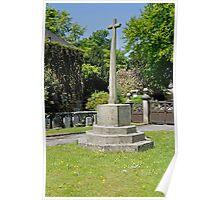 War Memorial, Alstonefield Poster