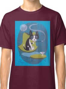Boston Terrier At Home Classic T-Shirt