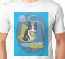 Boston Terrier At Home Unisex T-Shirt