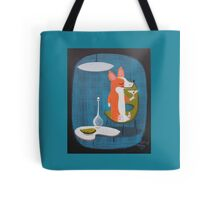 Corgi At Home Tote Bag