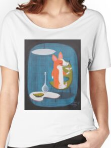 Corgi At Home Women's Relaxed Fit T-Shirt