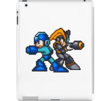 Megaman And Bass iPad Case/Skin