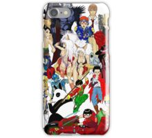 Drawn Anime Characters iPhone Case/Skin