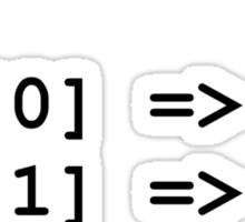 Hip Hip Hooray Programming Array  Sticker