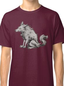 grumpy  morning wolf Classic T-Shirt