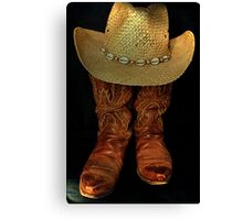 """""""Country from Head to Toe""""... prints and products Canvas Print"""
