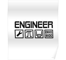 ENGINEER T-SHIRT  Poster
