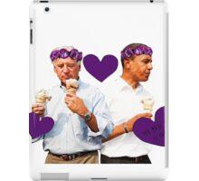 Joe Biden and Barack Obama Eating Ice Cream iPad Case/Skin