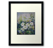 Spring in the soul Framed Print