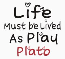 ╚»★Plato Motivational Quote Clothing & Stickers & Cases & Tote Bags & Home Decor & Stationary★«╝ One Piece - Short Sleeve