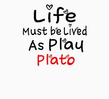 ╚»★Plato Motivational Quote Clothing & Stickers & Cases & Tote Bags & Home Decor & Stationary★«╝ Men's Baseball ¾ T-Shirt