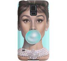Hot Blue Audrey Samsung Galaxy Case/Skin