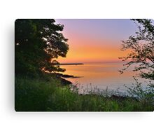 St Catherine's Bay Canvas Print