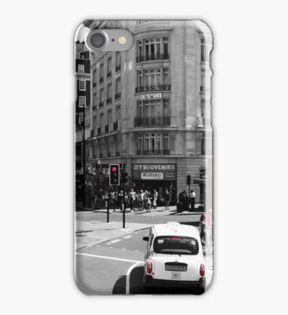 London - Black, White and Red iPhone Case/Skin