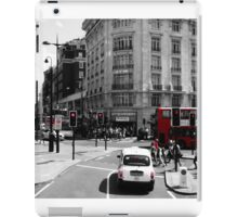 London - Black, White and Red iPad Case/Skin