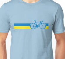 Bike Stripes Ukraine Unisex T-Shirt