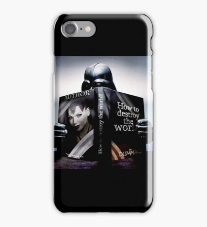 how to destroy the world iPhone Case/Skin