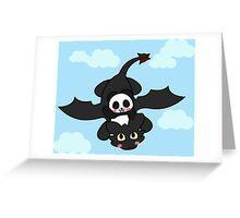 How panda train your dragon Greeting Card