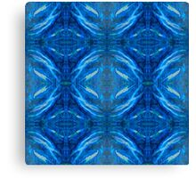 Water Pattern Collection - Whale Song  Canvas Print