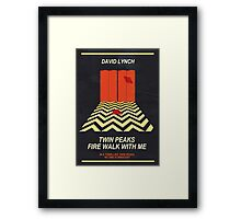 Twin Peaks: Red Room Framed Print