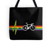 Bike Stripes Dark Side Tote Bag
