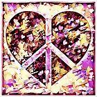 Peace Hearts by Dana Roper