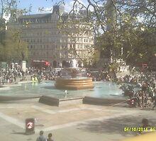 London Fountain by GinevraEaton