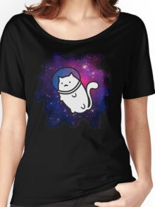 Fat Cat in Space 1 Women's Relaxed Fit T-Shirt
