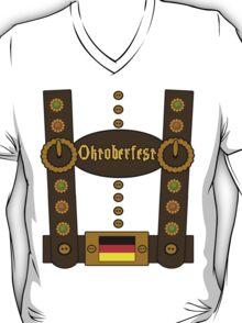 Oktoberfest Lederhosen Funny T-Shirt