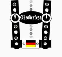 Oktoberfest Lederhosen Funny BW Unisex T-Shirt