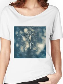 Large tropical spider in the web Women's Relaxed Fit T-Shirt