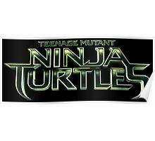 Teenage Mutant Ninja Turtles Logo Poster