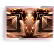 Vision: Kosmos and Kaos Canvas Print