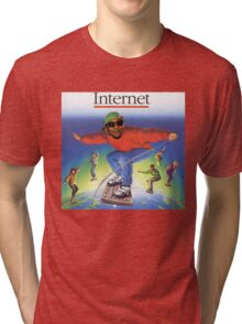 Now it's '95 and I'm surfin' with the Based God Tri-blend T-Shirt