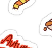 Autumn Sticker Set Sticker