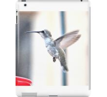 ANGEL WINGED ANNA'S HUMMINGBIRD iPad Case/Skin