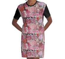 My Own Private Garden Graphic T-Shirt Dress